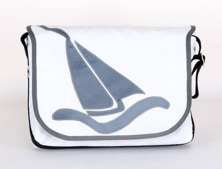 Segeljachten | weiß / grau | Klein