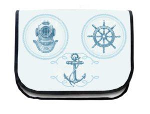 Segeltuchtasche Maritim 3 Symbole