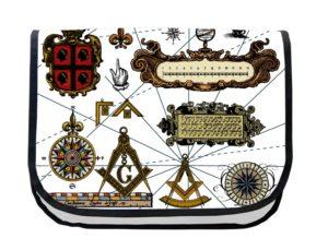 Segeltuchtasche Maritim Symbole 2