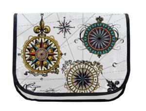 Segeltuchtasche Maritim Symbole