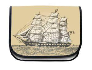 Segeltuchtasche Maritim Segelboot 2