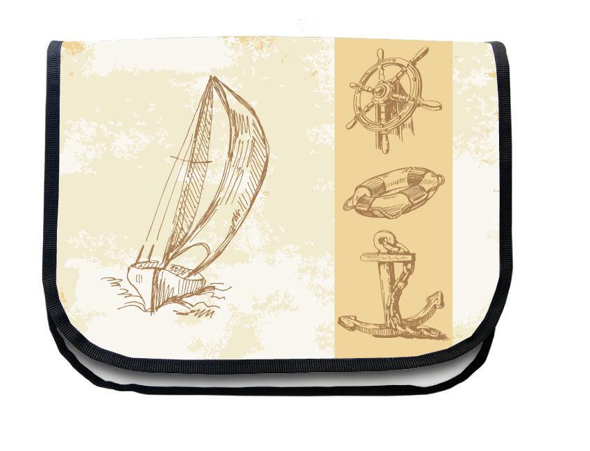 Segeltuchtasche Maritim Segelbot