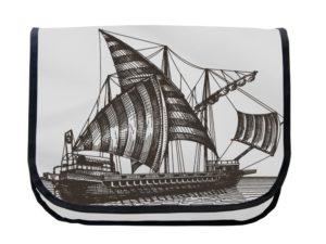 Segeltuchtasche Maritim Ruderschiff 2