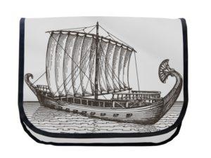 Segeltuchtasche Maritim Ruderschiff