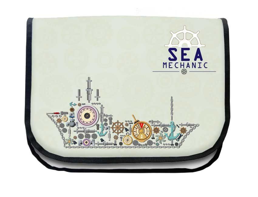 Segeltuchtasche Maritim Maschine