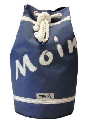 Segeltuchtasche Seesack Moin Blau