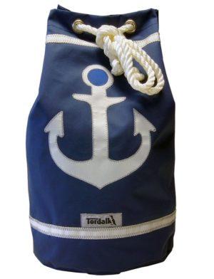 Segeltuchtasche Seesack Anker Blau