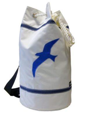 Segeltuchtasche Seesack Moewe Weiss