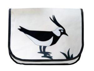 Vogel | weiss / schwarz / grau