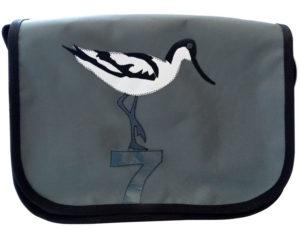 Säbelschnäbler | grau / weiß / schwarz