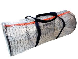 Transparent Tasche rund